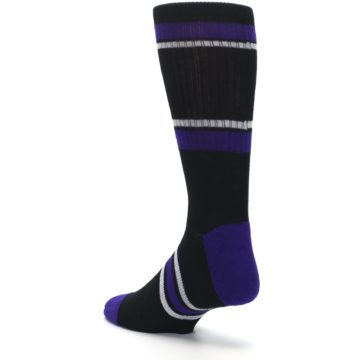 Image of Colorado Rockies Men's Athletic Crew Socks (side-2-back-15)