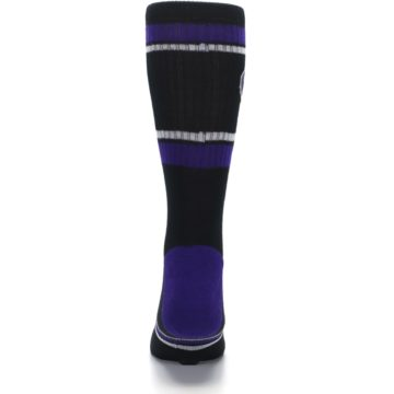 Image of Colorado Rockies Men's Athletic Crew Socks (back-18)