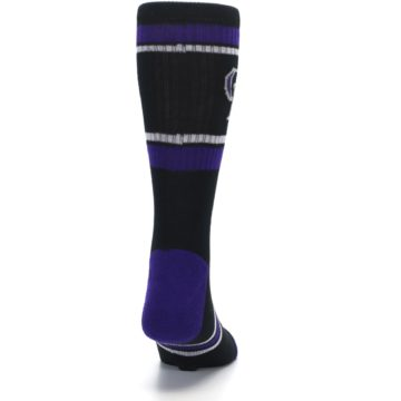 Image of Colorado Rockies Men's Athletic Crew Socks (back-19)