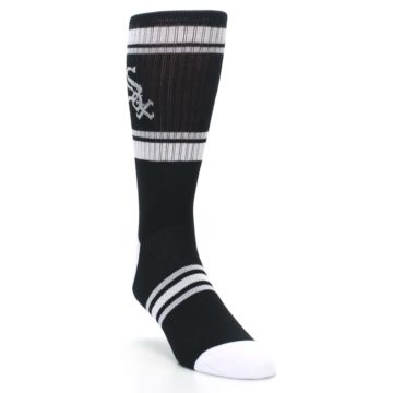 Image of Chicago White Sox Men's Athletic Crew Socks (side-1-front-02)