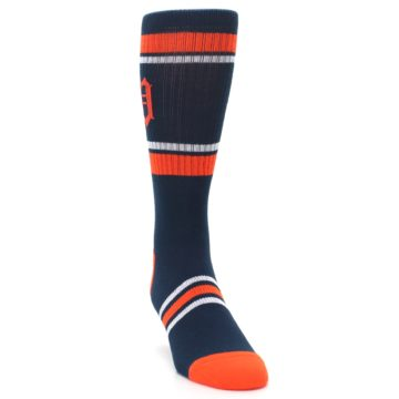 Image of Detroit Tigers Men's Athletic Crew Socks (side-1-front-03)