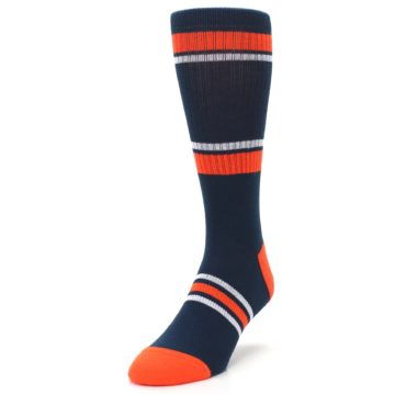 Image of Detroit Tigers Men's Athletic Crew Socks (side-2-front-07)