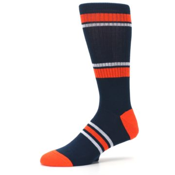 Image of Detroit Tigers Men's Athletic Crew Socks (side-2-10)