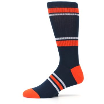 Image of Detroit Tigers Men's Athletic Crew Socks (side-2-11)