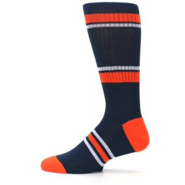 Image of Detroit Tigers Men's Athletic Crew Socks (side-2-12)