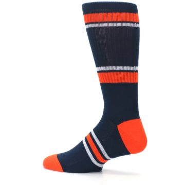 Image of Detroit Tigers Men's Athletic Crew Socks (side-2-13)