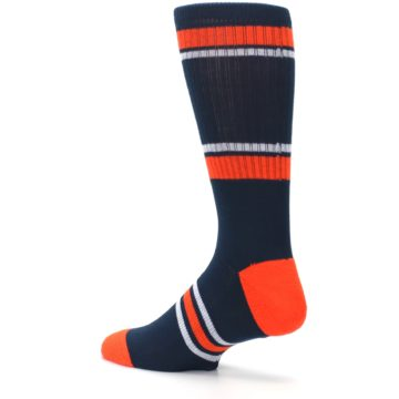Image of Detroit Tigers Men's Athletic Crew Socks (side-2-back-14)
