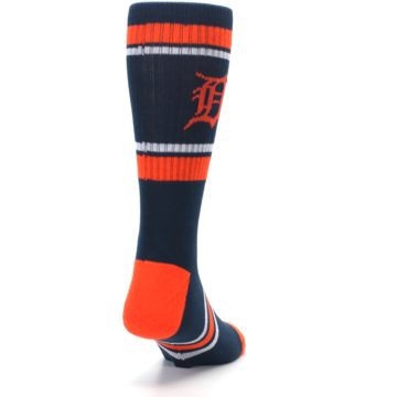 Image of Detroit Tigers Men's Athletic Crew Socks (side-1-back-20)
