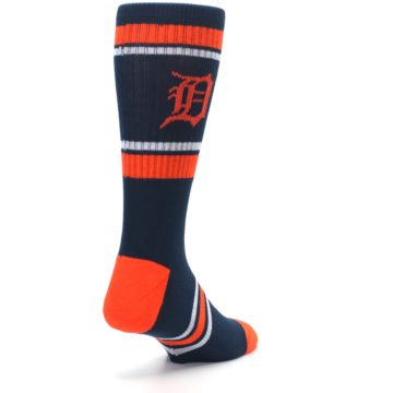Image of Detroit Tigers Men's Athletic Crew Socks (side-1-back-21)
