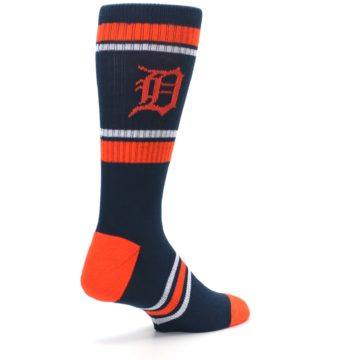 Image of Detroit Tigers Men's Athletic Crew Socks (side-1-back-22)