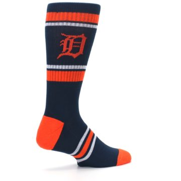 Image of Detroit Tigers Men's Athletic Crew Socks (side-1-23)