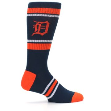 Image of Detroit Tigers Men's Athletic Crew Socks (side-1-24)