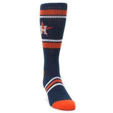 Image of Houston Astros Men's Athletic Crew Socks (side-1-front-03)