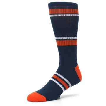 Image of Houston Astros Men's Athletic Crew Socks (side-2-09)