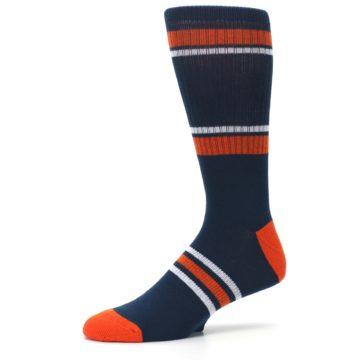 Image of Houston Astros Men's Athletic Crew Socks (side-2-10)