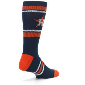 Image of Houston Astros Men's Athletic Crew Socks (side-1-back-22)