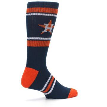 Image of Houston Astros Men's Athletic Crew Socks (side-1-23)