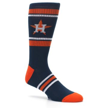 Image of Houston Astros Men's Athletic Crew Socks (side-1-26)