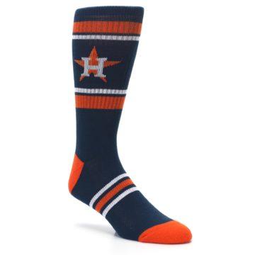 Image of Houston Astros Men's Athletic Crew Socks (side-1-27)