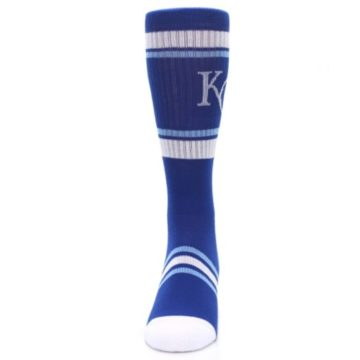 Image of Kansas City Royals Men's Athletic Crew Socks (front-05)