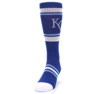 Image of Kansas City Royals Men's Athletic Crew Socks (side-2-front-06)