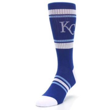 Image of Kansas City Royals Men's Athletic Crew Socks (side-2-front-07)