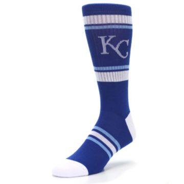 Image of Kansas City Royals Men's Athletic Crew Socks (side-2-front-08)