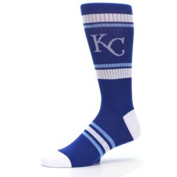 Image of Kansas City Royals Men's Athletic Crew Socks (side-2-10)