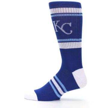 Image of Kansas City Royals Men's Athletic Crew Socks (side-2-12)