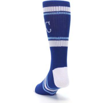 Image of Kansas City Royals Men's Athletic Crew Socks (side-2-back-16)