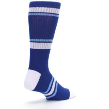 Image of Kansas City Royals Men's Athletic Crew Socks (side-1-back-22)