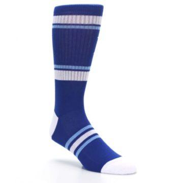 Image of Kansas City Royals Men's Athletic Crew Socks (side-1-27)