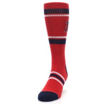Image of Los Angeles Angels Men's Athletic Crew Socks (side-2-front-06)