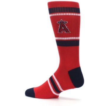 Image of Los Angeles Angels Men's Athletic Crew Socks (side-2-13)