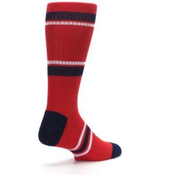 Image of Los Angeles Angels Men's Athletic Crew Socks (side-1-back-22)