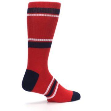 Image of Los Angeles Angels Men's Athletic Crew Socks (side-1-23)