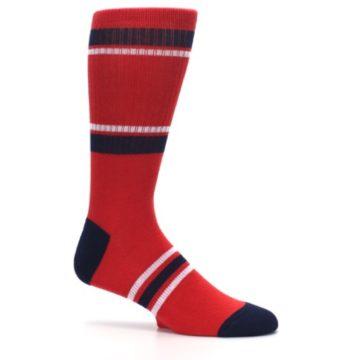 Image of Los Angeles Angels Men's Athletic Crew Socks (side-1-25)
