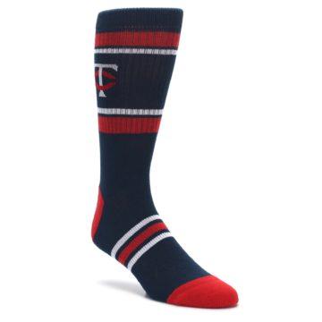 Minnesota-Twins-Mens-Athletic-Crew-Socks-PKWY