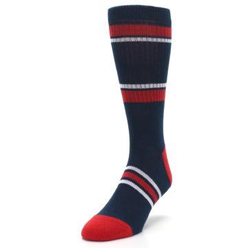 Image of Minnesota Twins Men's Athletic Crew Socks (side-2-front-07)