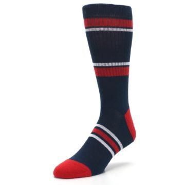 Image of Minnesota Twins Men's Athletic Crew Socks (side-2-front-08)