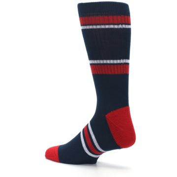 Image of Minnesota Twins Men's Athletic Crew Socks (side-2-back-14)