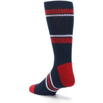 Image of Minnesota Twins Men's Athletic Crew Socks (side-2-back-15)