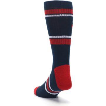 Image of Minnesota Twins Men's Athletic Crew Socks (side-2-back-16)