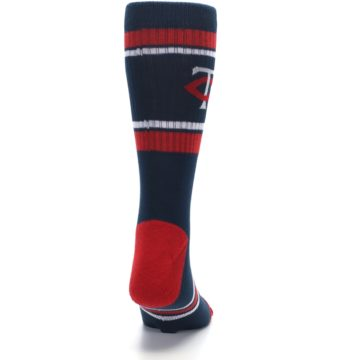 Image of Minnesota Twins Men's Athletic Crew Socks (back-19)