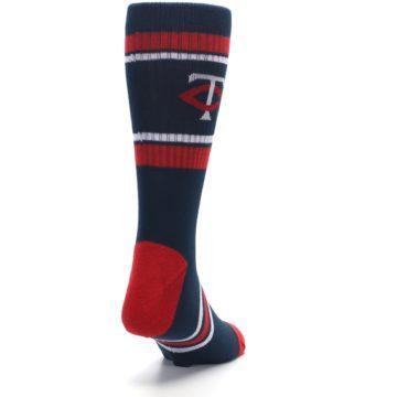 Image of Minnesota Twins Men's Athletic Crew Socks (side-1-back-20)