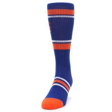 Image of New York Mets Men's Athletic Crew Socks (side-2-front-06)
