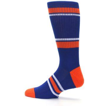 Image of New York Mets Men's Athletic Crew Socks (side-2-13)