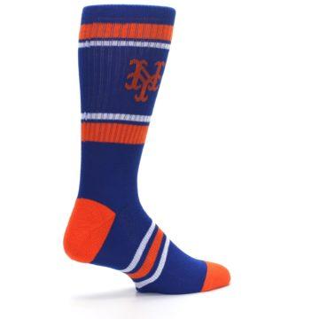 Image of New York Mets Men's Athletic Crew Socks (side-1-23)