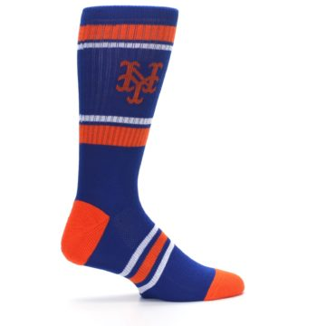 Image of New York Mets Men's Athletic Crew Socks (side-1-24)