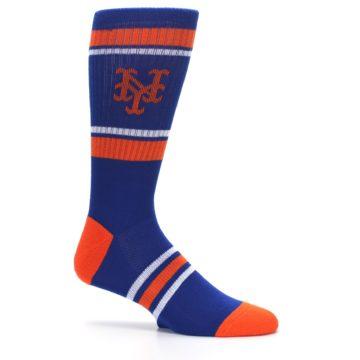 Image of New York Mets Men's Athletic Crew Socks (side-1-25)